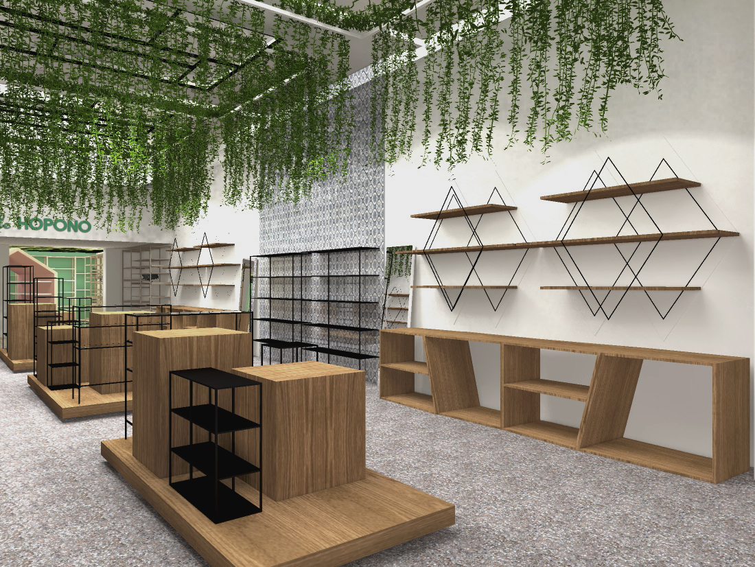 Concept store by L&++