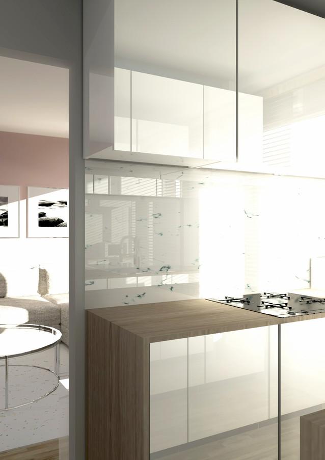 L&++ Interior Architecture - Appartment Woluwe-St-Pierre