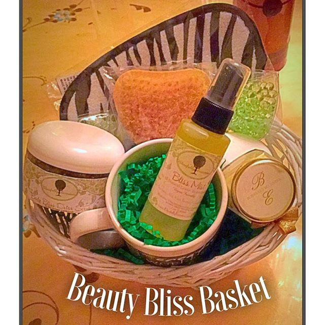 Beauty Bliss Baskets have been great gifts to give. They can be customized to fit the need of the oc