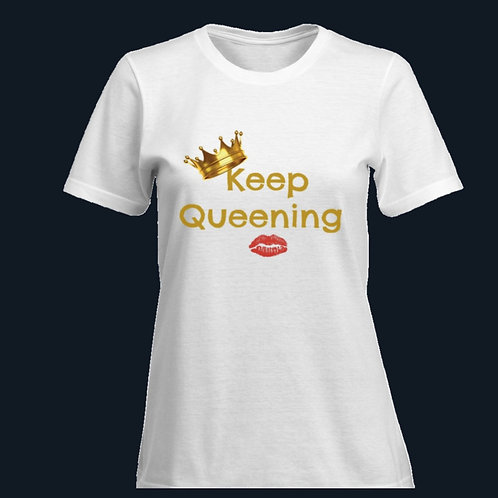 Blissfully Positive Keep Queening T-shirt