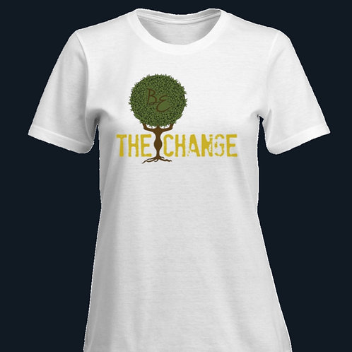 """Blissfully Positive """"Be The Change"""" T-Shirt"""