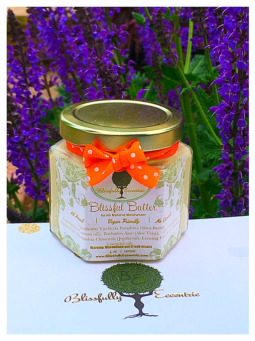 Blissful Butter 4oz Sweet Citrus