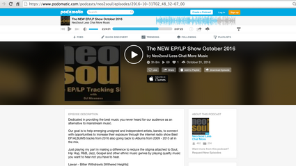 """""""Why"""" Included in UK Based Neo2Soul's Mix"""