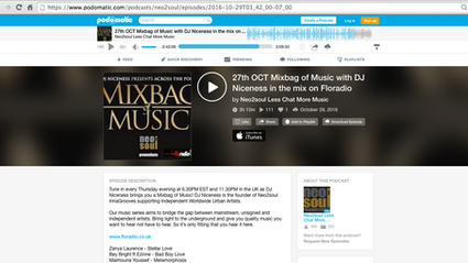 """Listen to """"Wonder"""" Featured on UK Based Neo2Soul's Mix!"""