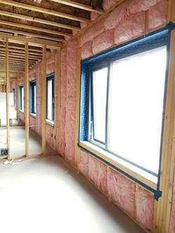 Passive House Window Installation