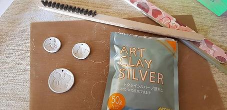 Art Clay Silber Arbeiten