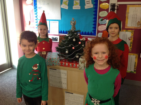 Year 2 Sycamore Elf Day