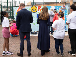 Young people at fore as The Duke and Duchess of Cambridge visit