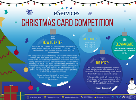 eServices Christmas Card Competition