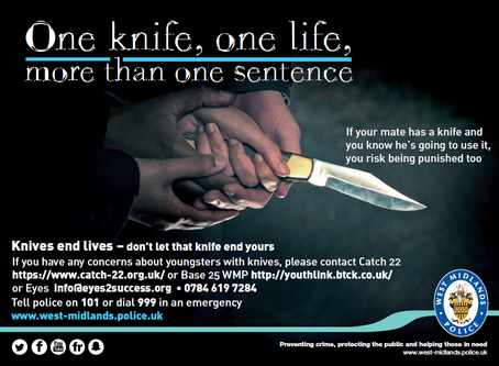 Knife Crime Poster