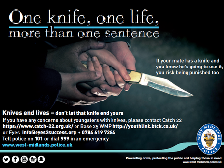 Knife Crime Campaign