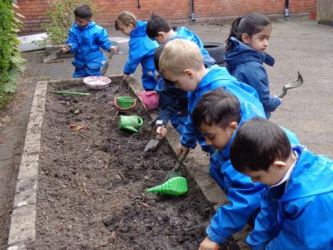 Forest School - Nursery - Mud Play