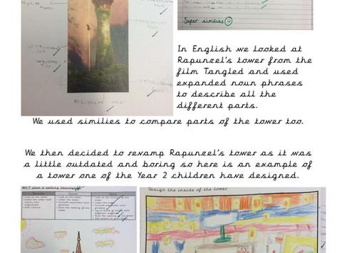 English Rapunzel's Tower