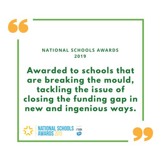 Oak Meadow - National Schools Awards 201