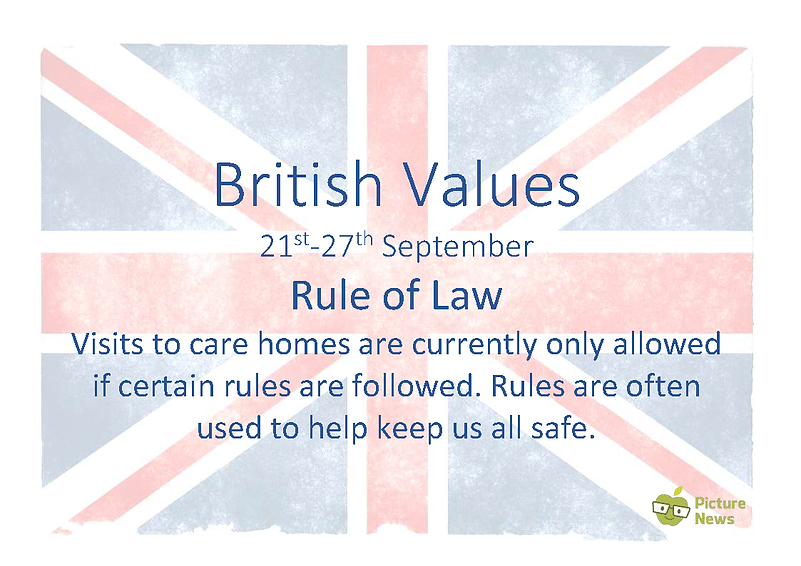 British Values and UN Rights - 21st Sept