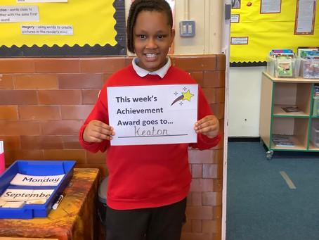 Year 3 Achievement Award Winner
