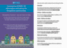 covid 19 community leaflet updated [Reco