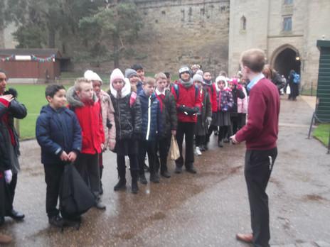 Year 5 Visit Warwick Castle
