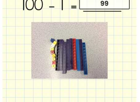 Subtracting from 100 and 1000