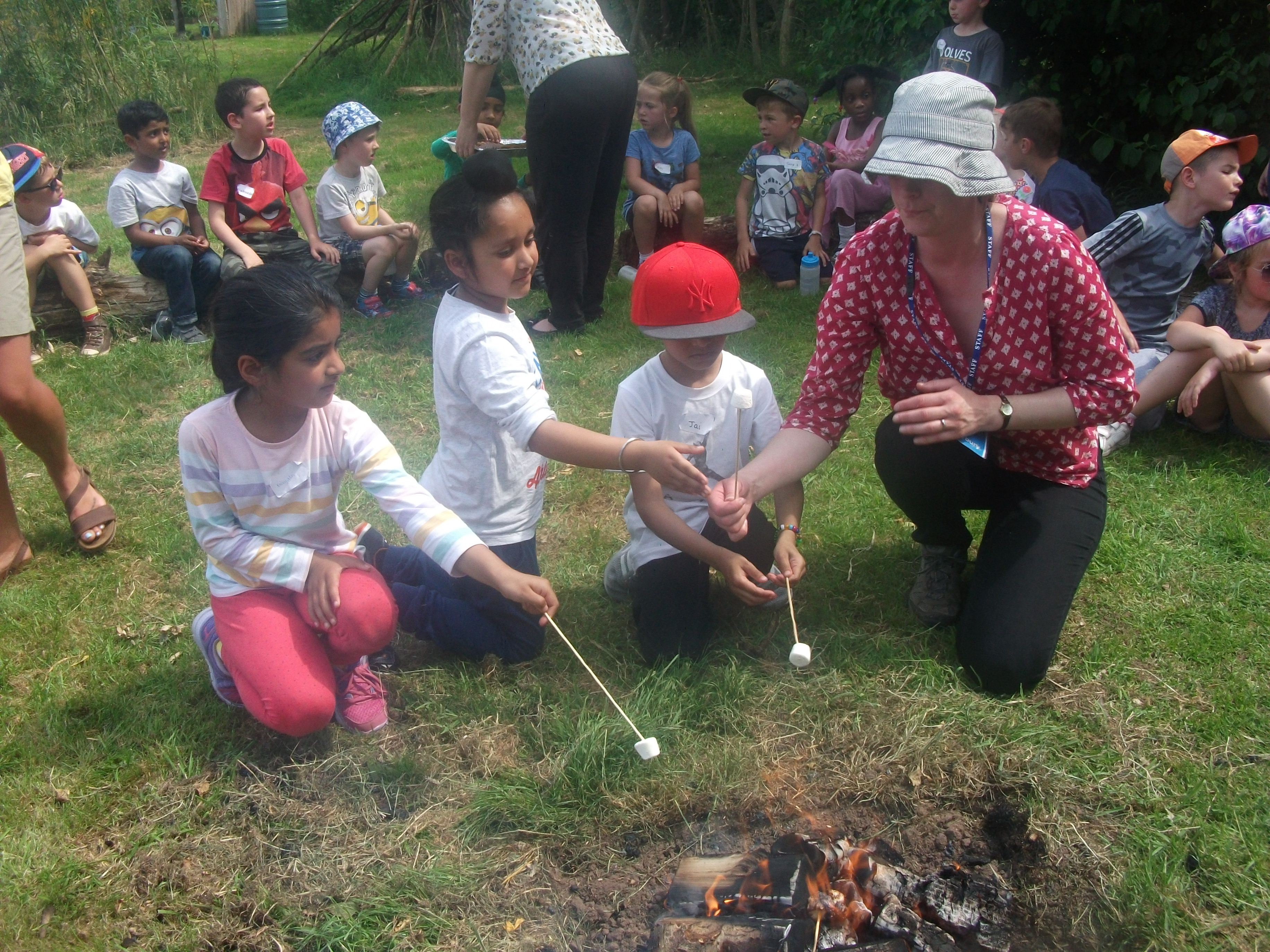Year 1 St. Mary's Forest School (100)