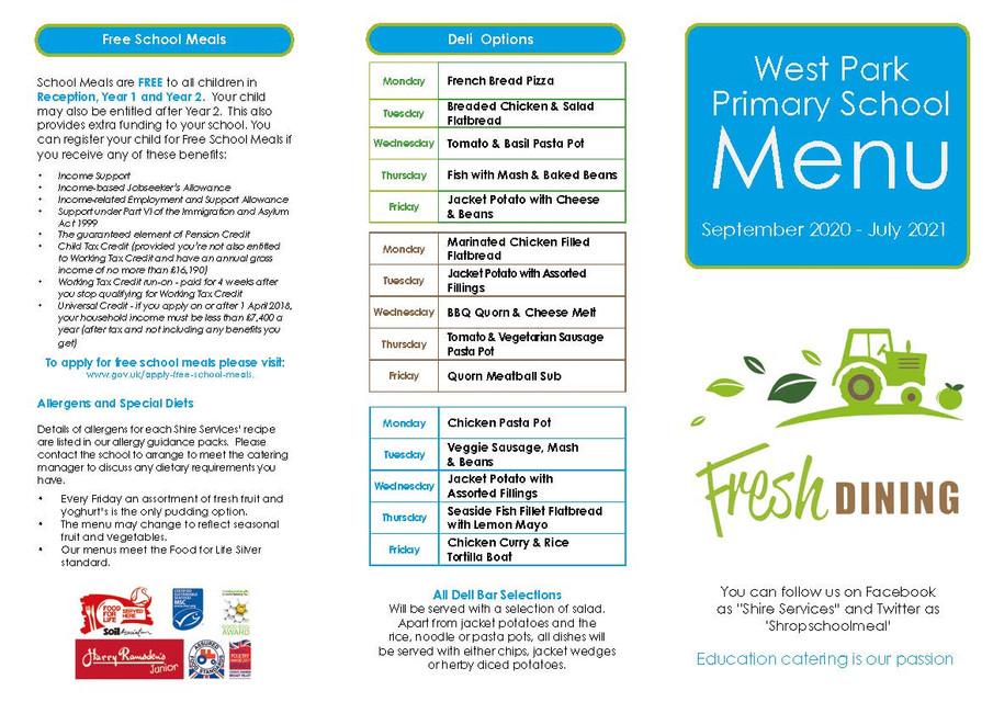 West Park Primary School Parent Leaflet