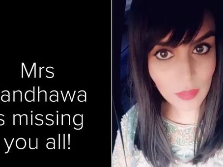 Message from Mrs Randhawa