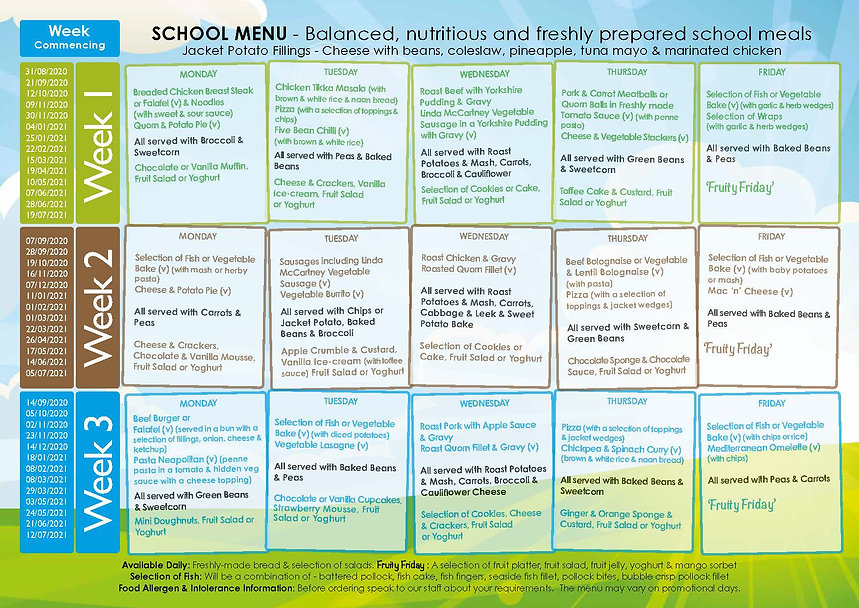Rakegate Primary School Parent Leaflet -
