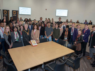 Celebration as record number of youth councillors are elected