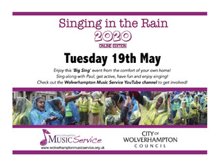 Children and families invited to join online singalong