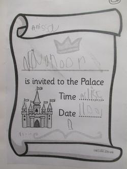 Party Invitation - Allissa Nursery