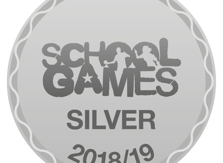 Silver School Games Mark Award