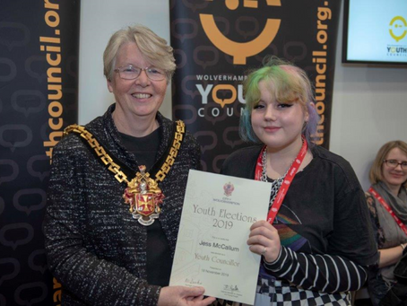 Youth Councillor Elected