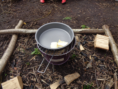 Forest School - Reception - Pancake Day 2019