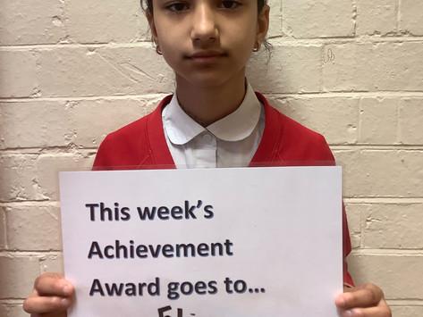 Year 5 Achievement Awards