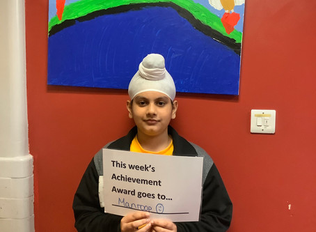 Year 6 Achievement Award