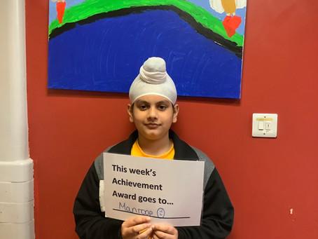 Year 6 Achievement Award