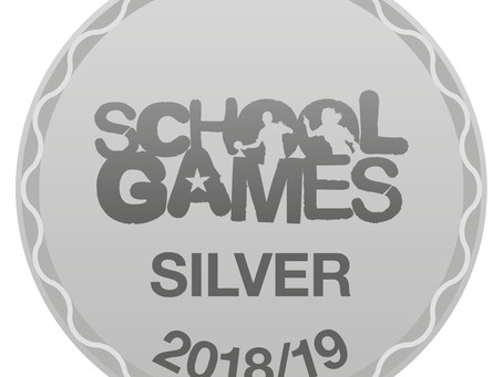 School Games Silver Games Mark