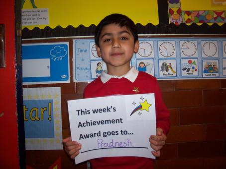 Year 3 Achievement Award