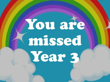 A video message from Mrs H for Year 3