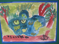 Year 2 Our School Pond by Isaiah