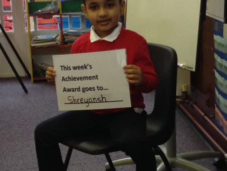 Year 1 Achievement Award
