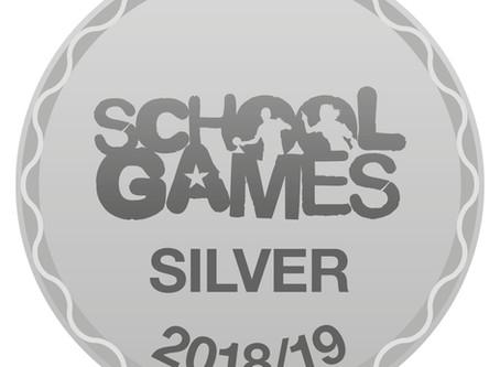 School Games Silver Games Mark