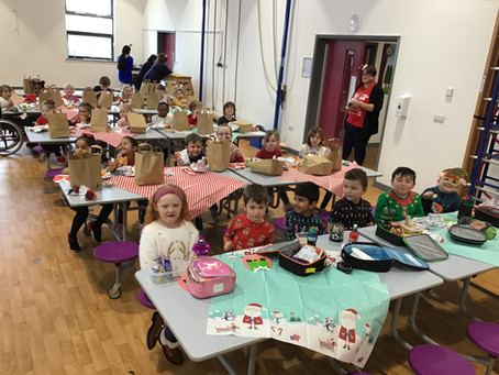 Year 1 Ash Christmas Lunch