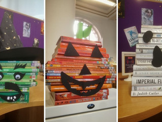 Spooky selection on offer as libraries mark Halloween