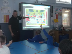 Year 4's Visit from the Firemen