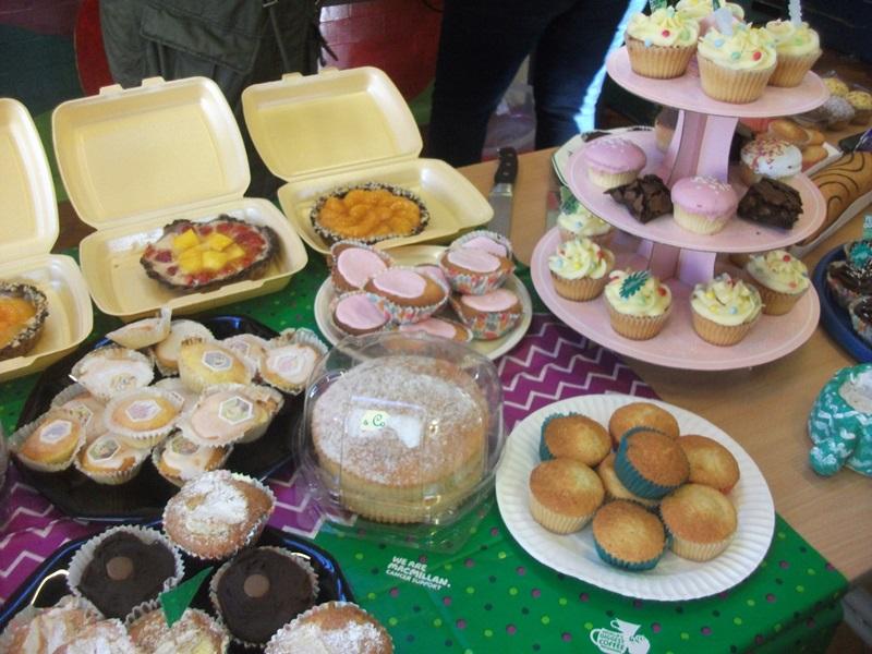 MacMillan Cake Sale