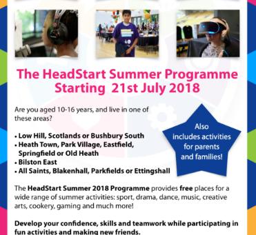 HeadStart Summer Programme