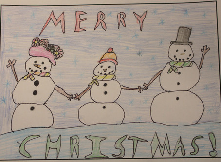 2018 Christmas Card Competition Winners