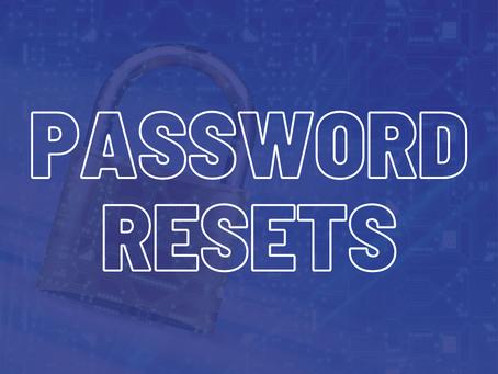 Password Resets