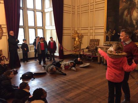 Year 6 Warwick Castle visit
